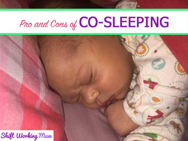 Pros and cons of co-sleeping