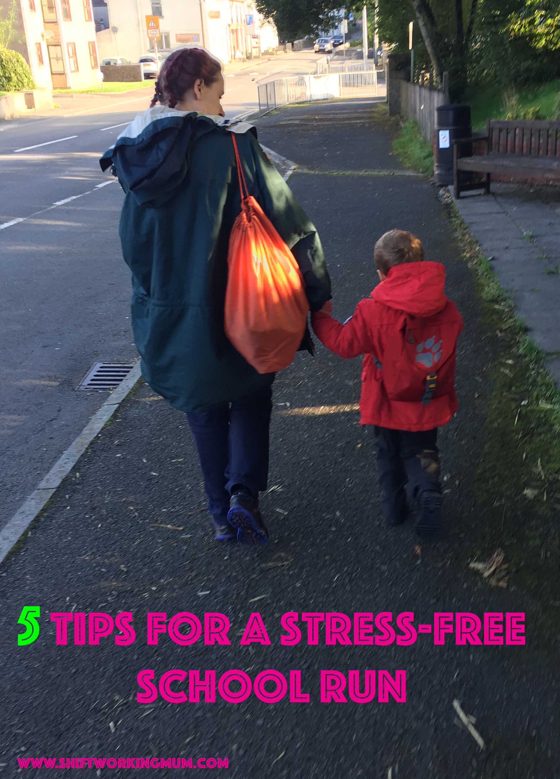 5 Tips for a stress-free school run