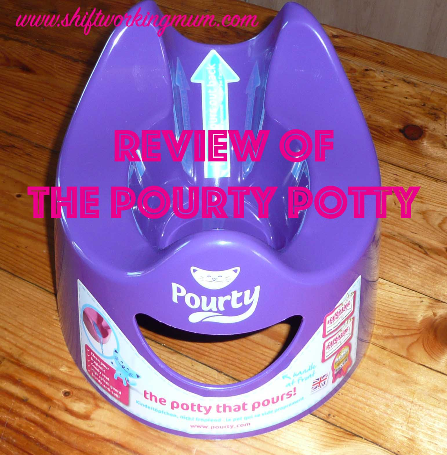 Review of the pourty potty