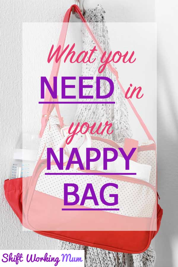 what you need in your nappy bag