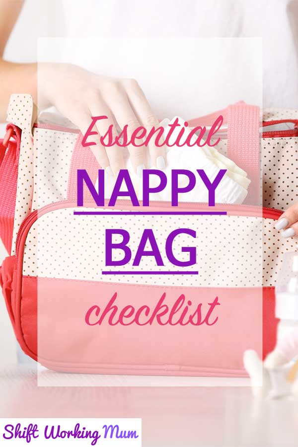 essential nappy bag checklist