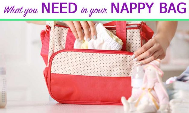 Checklist: What you need in your nappy changing bag
