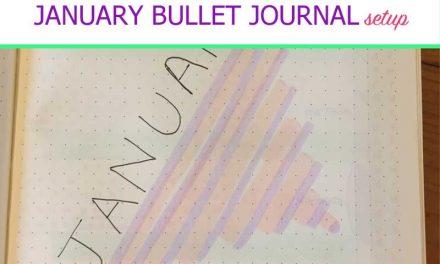 Plan with Me: January 2019 Bullet Journal Setup