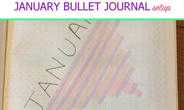 Plan with Me: January 2019 Bullet Journal Setup