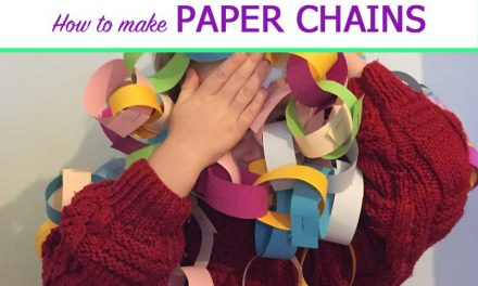 How to make paper chains