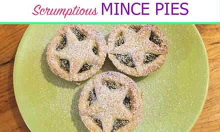 Scrumptious Buttery Mince Pies