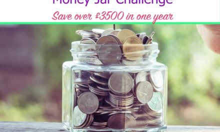 Money Jar Challenge – Save Over £3,500 in a year