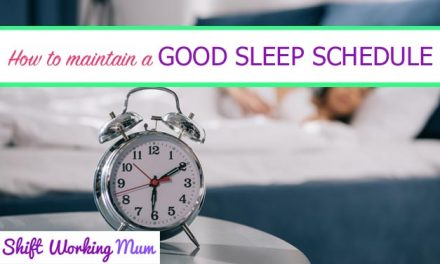How to maintain a good sleep schedule